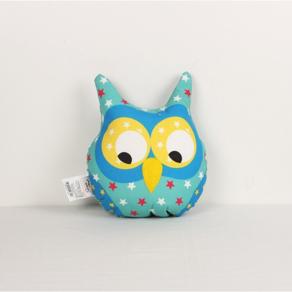 Owls Shape Pillow Digital Printed (14X16 Inch)