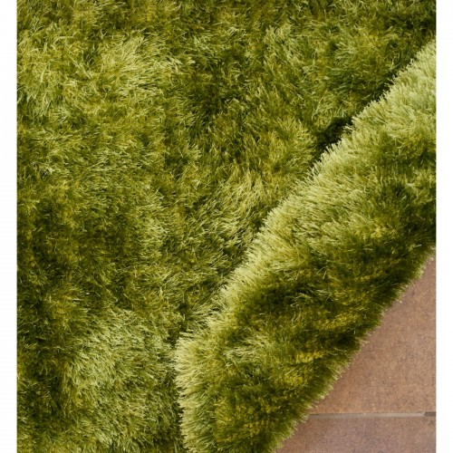 Faux Fur Flurry Rugs Carpet - Green